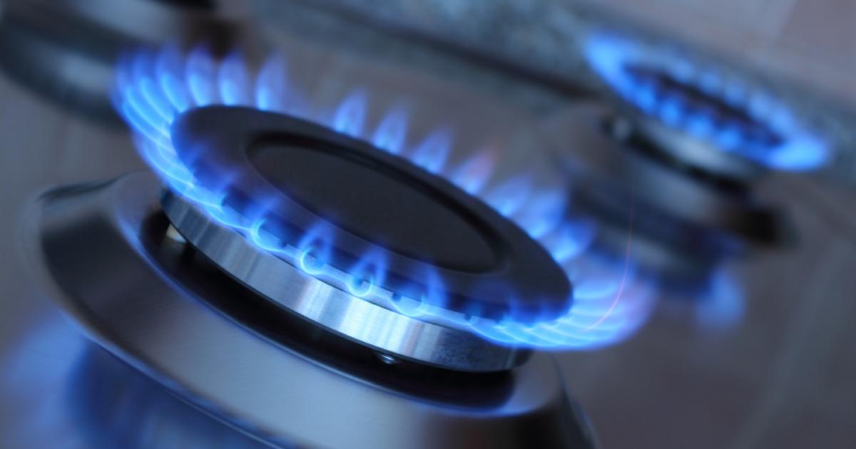 Природный газ дает