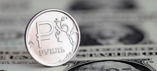 Рубль лидирует на