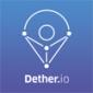 Логотип Dether