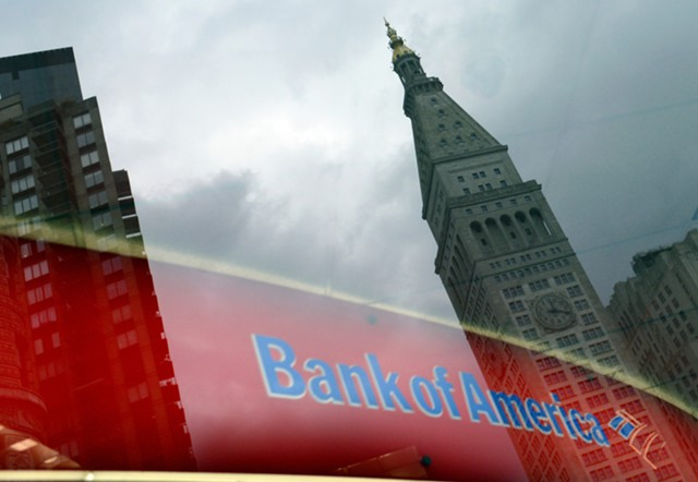 Прибыль Bank of America