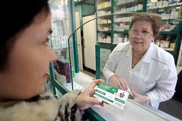 Доля российских лекарств