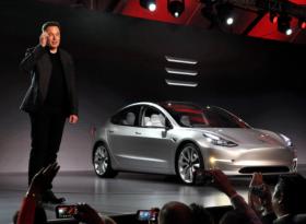 Акции Tesla выросли на