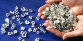 Запасы алмазов