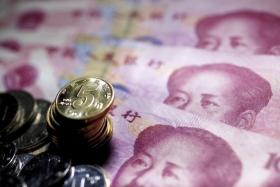 Доля юаня в мировых