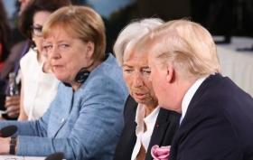 Лагард: торговые риски