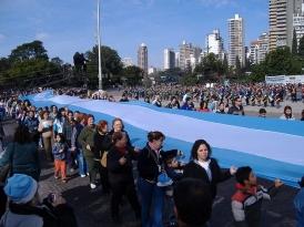 Аргентинцы митингуют