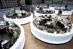 На европейских биржах