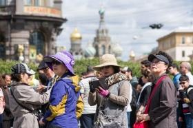 Китайские туристы в 2017