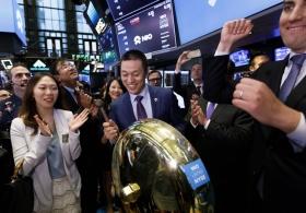 Количество IPO китайских