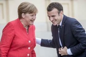 Меркель и Макрон не в