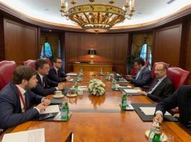 Министры энергетики РФ и