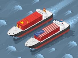 Торговая война вытесняет