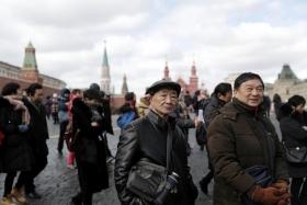 Китайские туристы стали