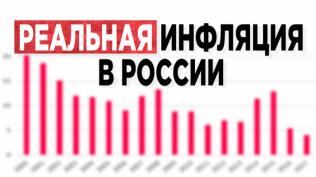 Какая инфляция в России?